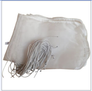 Micron Rated Nylon Mesh Liquid Filter Bag with Drawstring pictures & photos