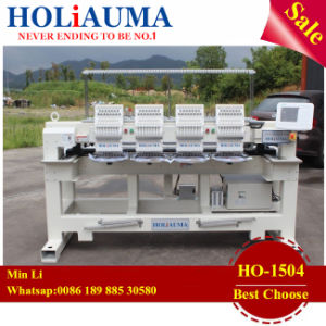 Hot Sale 4 Heads Four Heads Computerized Holiauma Automatic Embroidery Machine with 15 Needles in Stork pictures & photos
