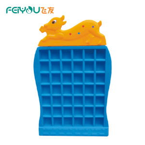 Feiyou Promotional Item Nontoxic Plastic Kids Children Room Cupboard Shelf Furniture Sets