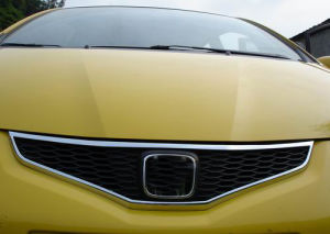 Honda Accessories: Front Grill Trim for Fit 2009