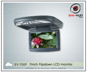 7 Inch Flipdown LCD Monitor (SY-700F)