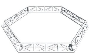 Hexagonal Truss (R 0030)