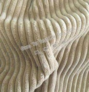 Polyester Acrylic Sofa/ Cushion/ Corduroy Fabric (GL-05) pictures & photos