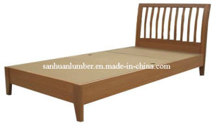 Graceful Solid Single and Double Wooden Bed pictures & photos