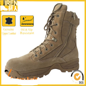 Popular Military Desert Tactical Boots pictures & photos