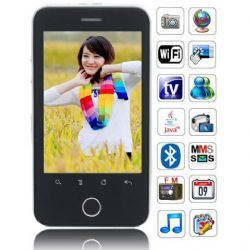 3.2 Inch Touch Screen Quadband Cellphone