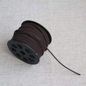 cut lengths Leather Strips Leather Lace FLAT Leather cord 3MM