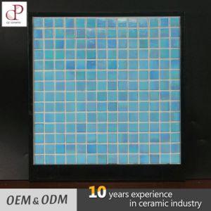 Hot Met Magic Blue Glass Mosaic Tile Swimming Pool