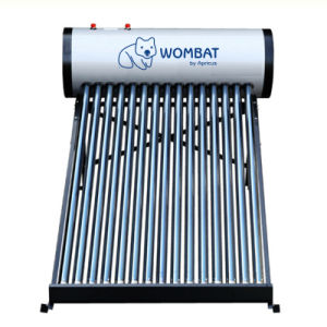 Apricus Compact Non-Pressurized Vacuum Tube Solar Water Heater
