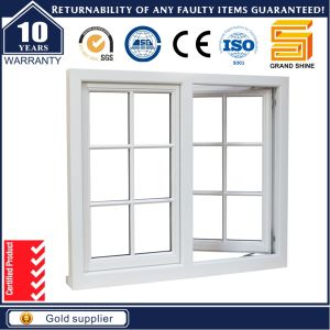 New Design Aluminum Casement Window with Security Grill