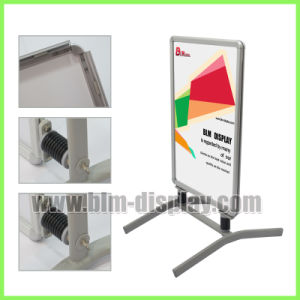 Outdoor Promotion Advertising Poster Banner Display Stands Snap Clip Frame  Pavement Signs