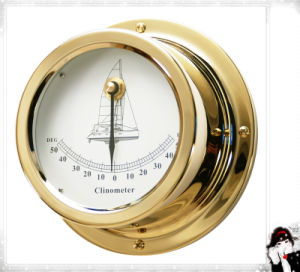 Export Quality Naucial Clinometer Brass Case Dia. 95mm pictures & photos