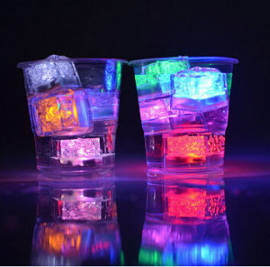 china fashionable water submersible light up ice cube for any party