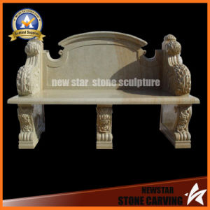 Stone Carving Bench Granite Sculpture pictures & photos