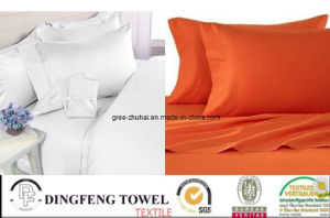 Hot Sales 100% Cotton Solid Color Home Bedding Set pictures & photos