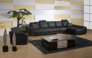 American Style Leather Sectional Sofa Jfc-32