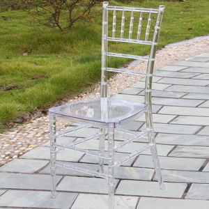 Clear Resin Tiffany Chair with Cushion pictures & photos