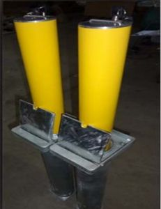 Manual Rising Bollard, Manual Safety Road Bollard Traffic Barrier pictures & photos