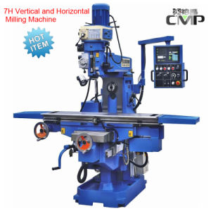 7H Vertical and Horizontal Milling Machine