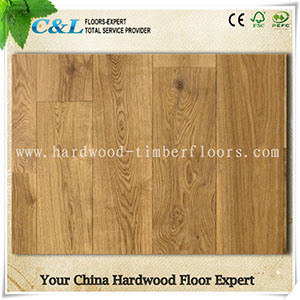 Wide Plank European Oak Engineered Flooring