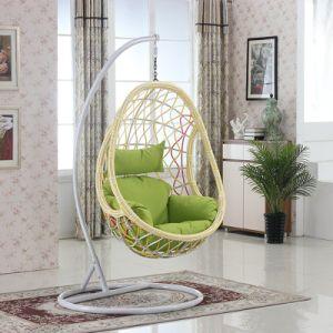 Garden Hanging Egg Chair Outdoor Rattan Swing / Wicker Swing Furniture D014b