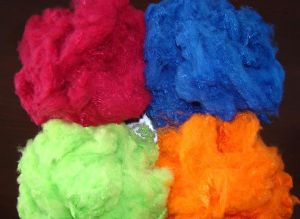 Recycle Polyester Staple Fiber Fiber PSF Color
