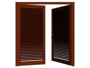 Kgc-45 Double Leaves Window with Shutter