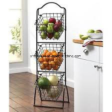 5 Tier Metal Display Rack with Spinning Baskets pictures & photos