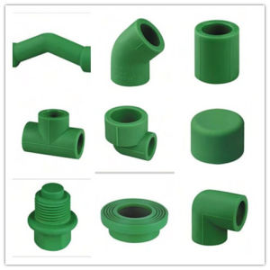 PPR Antibacterial Fittings 45deg Elbow for Water Supply pictures & photos
