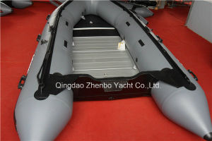 Aluminum Floor Inflatable Boat with CE Certificate