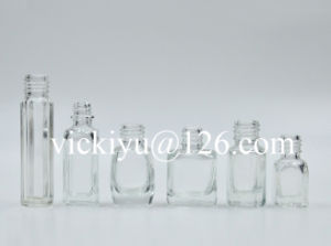 2~10ml Small Glass Cosmetics Bottles, Nail Oil Glass Bottles