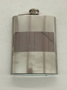 8oz Stainless Steel Stoup Hip Wine Flask