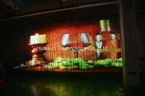 LED Strips Transparent LED Video Curtain Display