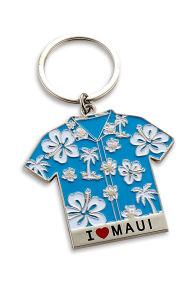 Fashion Flower Blue T-Shirt Key Chain (MS471M) pictures & photos