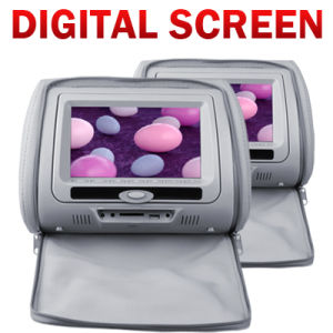 7inch Headrest DVD Player With Digital Screen and Detachable Screen (VH74)