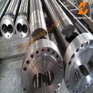 Twin Parallel Screw Barrel Bimetallic Double Screw Barrel pictures & photos