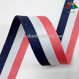 35mm Striped Color Poly Polyester Webbing pictures & photos