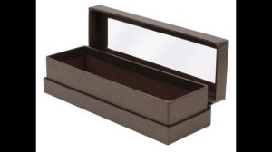 Clear Windows Paper Boxes for Sunglasses (FLB-9304)