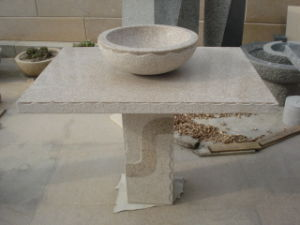 Stone Table, Stone Carving, Granite Table for Garden, Park, Yard