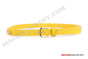 Fashion PU Belt with Rings - Maco234