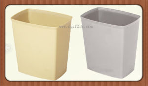 Small High Quality Square Office Plastic Trash Bin for Sale