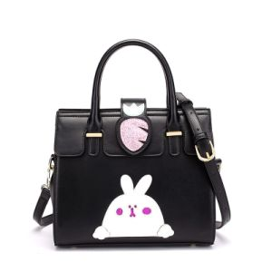 New Designer Cartoon Turnip and Rabbit Fashion Kids′ Handbag