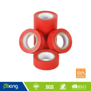 Customized Electrical Red Insulating PVC Tape Roll pictures & photos