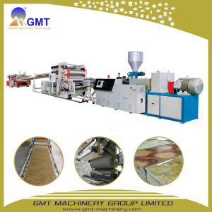 PVC Artificial Faux Marble Sheet Wall Panel Plastic Twin-Screw Extruder