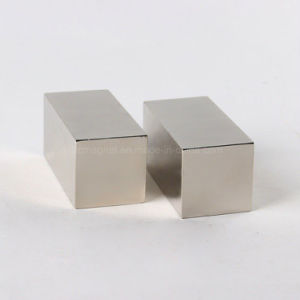 Custom Really Powerful N40 Nickel Plated Bar Rare Earth Magnets