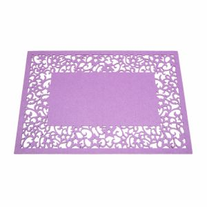 3mm & 5mm Promotional 100% Felt Placemat for Tabletop and Christmas Decorations