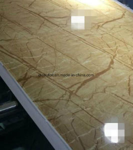 Marble Faux Decorative Materials for PVC Profile pictures & photos