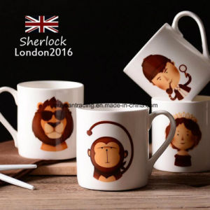 London Cartoon Ceramic Coffee Mugs Bone China Tea Cup