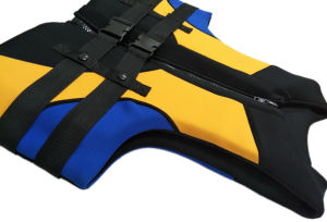 Nylon Life Jacket with Polyester (HX-V0016) pictures & photos