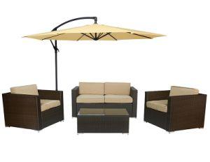 China Wicker Woven Sofa Set Garden Sofa Set Pe Rattan Sofa Set